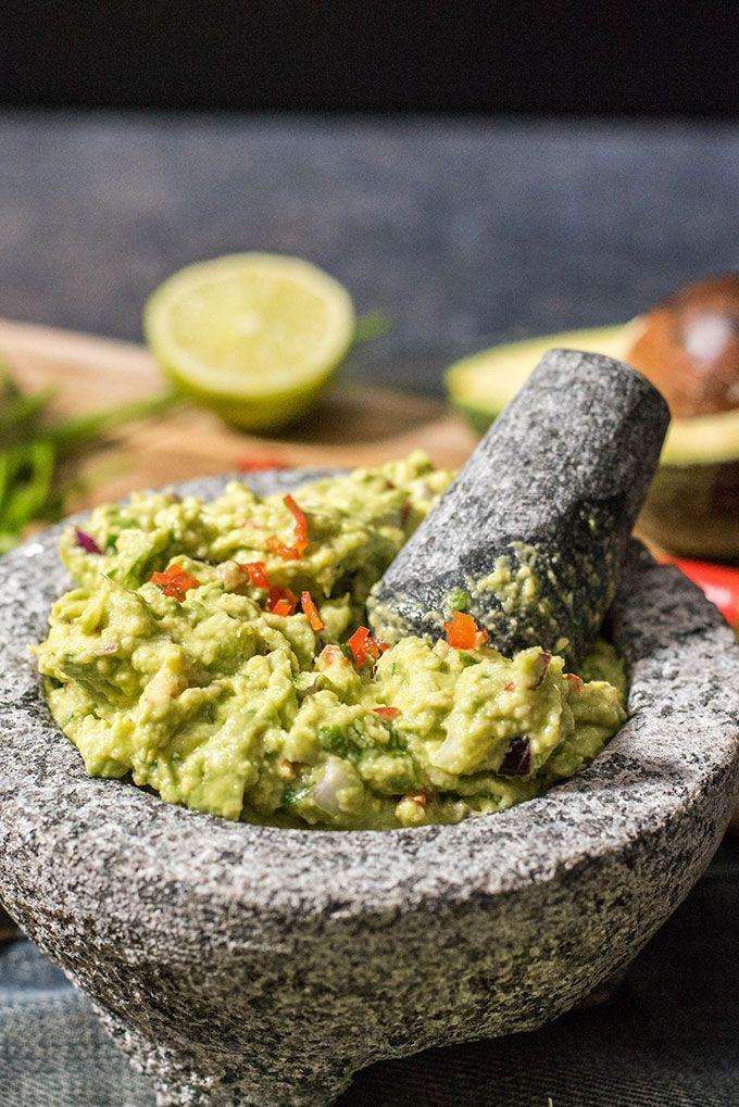 Can You Substitute Lime For Lemon In Guacamole How To Make Spicy Guacamole Recipe Guacamole Spicy Guacamole Healthy Snacks Recipes
