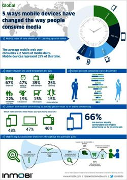 Global Media Usage: Mobile passes TV...