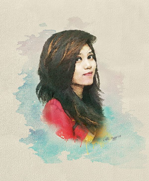 Pin By Khm Bappy On Graphic Design New Media Art Watercolor