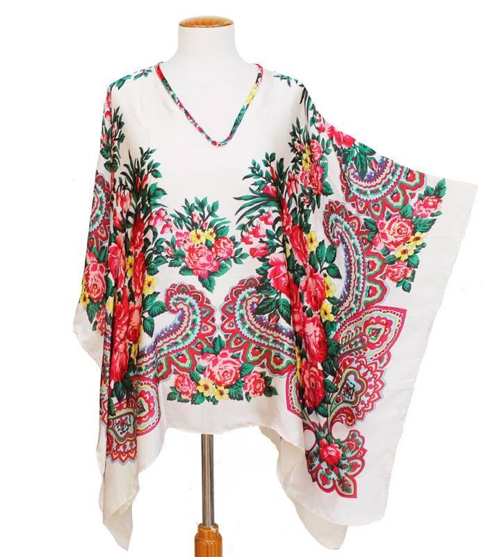 blusón de seda julunggul www.julunggul.com