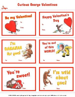 Curious Gee Valentines Free Curious Gee Printables