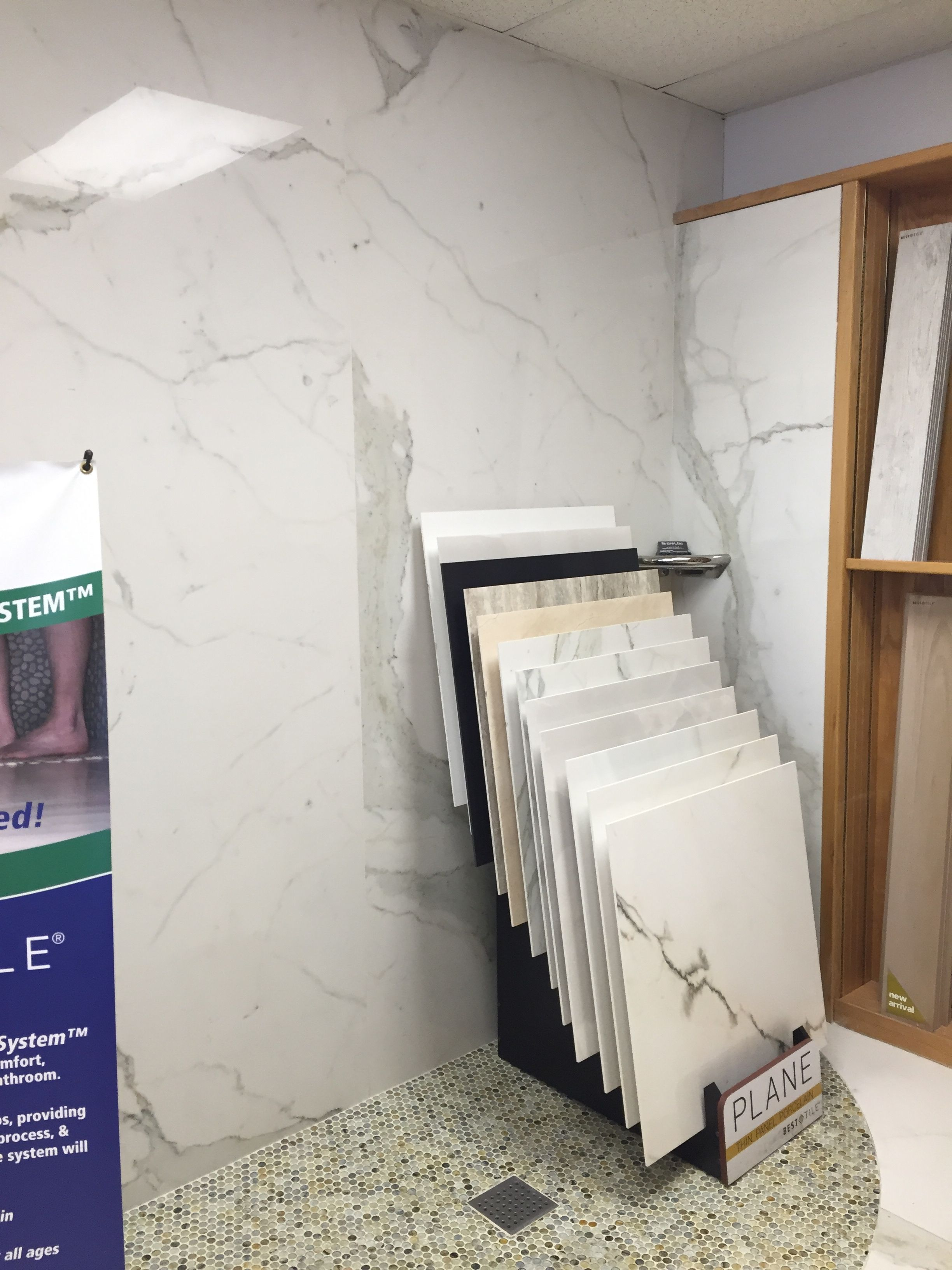 Large 5x10 Ft Marble Looking Ceramic Tile Slabs Use For Shower