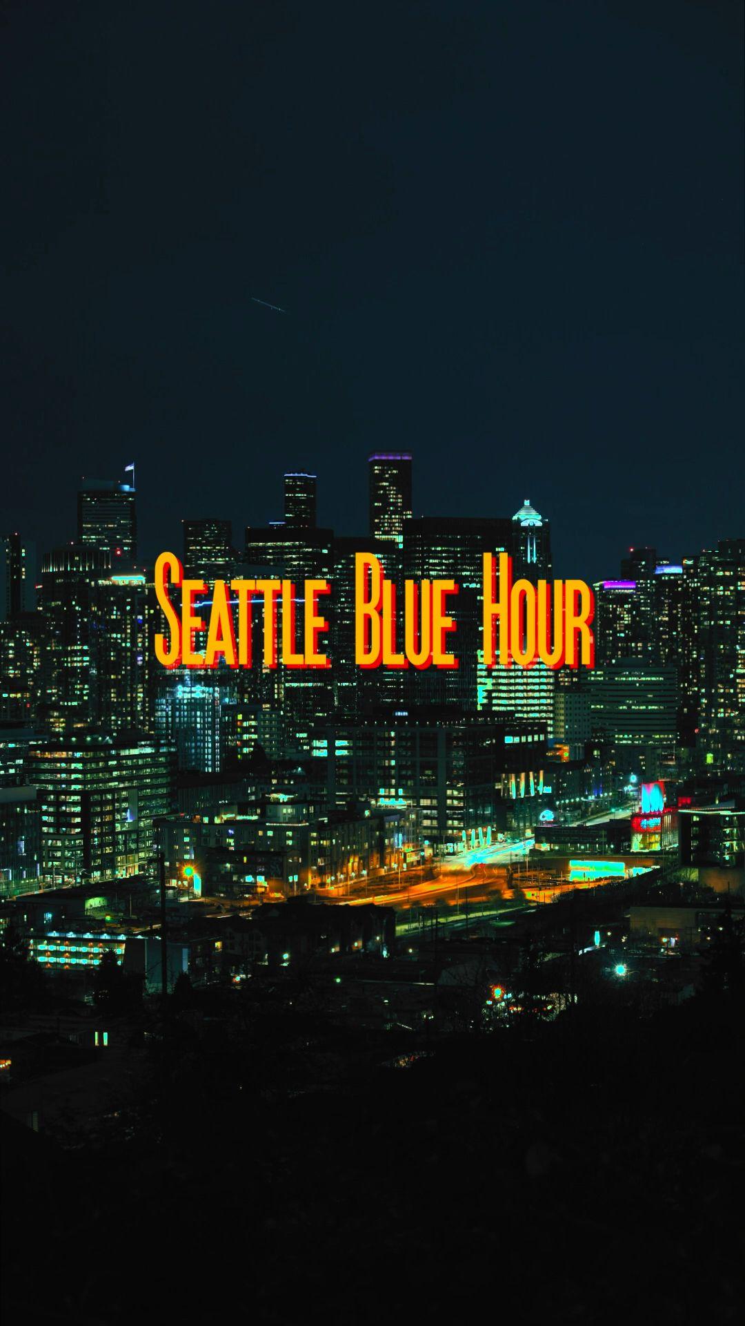 Seattle Blue Hour Timelapse