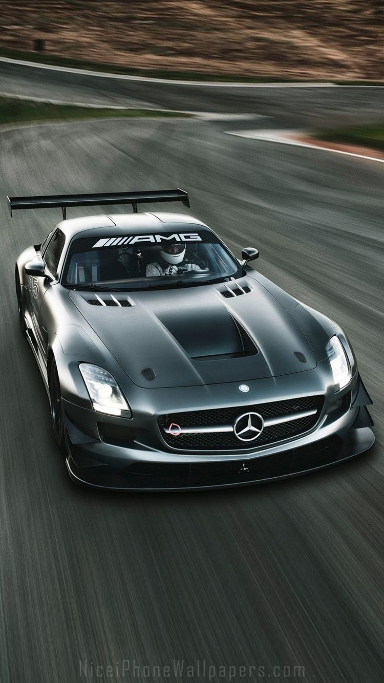 Mercedes benz sls amg gt3 iphone 6 6 plus wallpaper cars for Www mercedes benz mobile com iphone