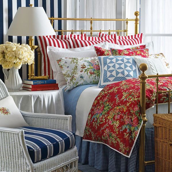 Country Cottage Style Bedding & Bedspreads: My Favorites
