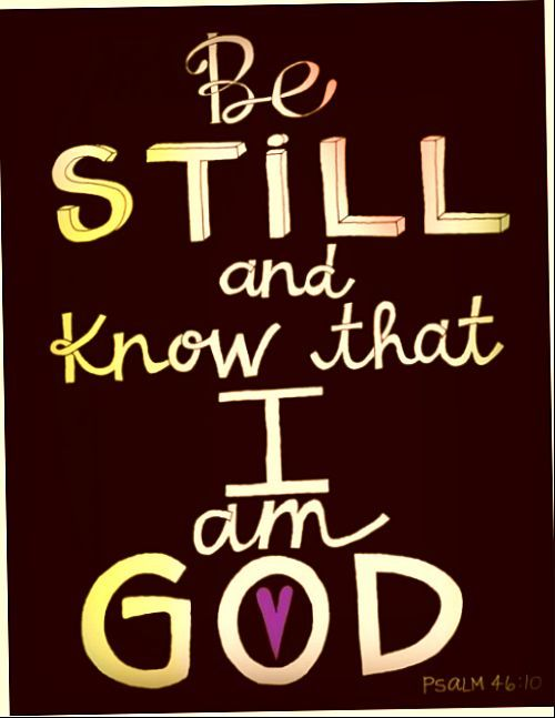 Psalm 46:10 God Is Able! #Psalms #Faith