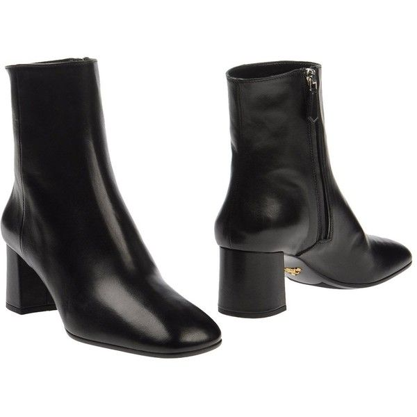 e22ca3b6 Prada Ankle Boots (10,035 EGP) ❤ liked on Polyvore ...