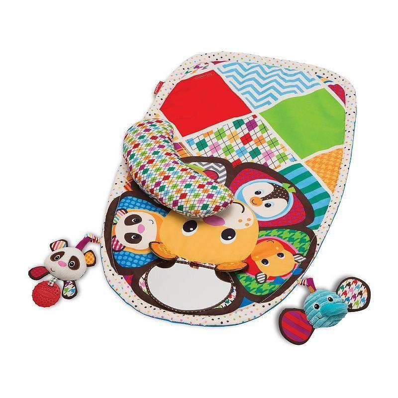 Infantino Peek & Play Tummy Time Activity Set, Multicolor