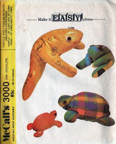 Cool Unused Vintage 1971 Mccalls Toy Pattern Large Turtle Inzonedesignstudio Interior Chair Design Inzonedesignstudiocom
