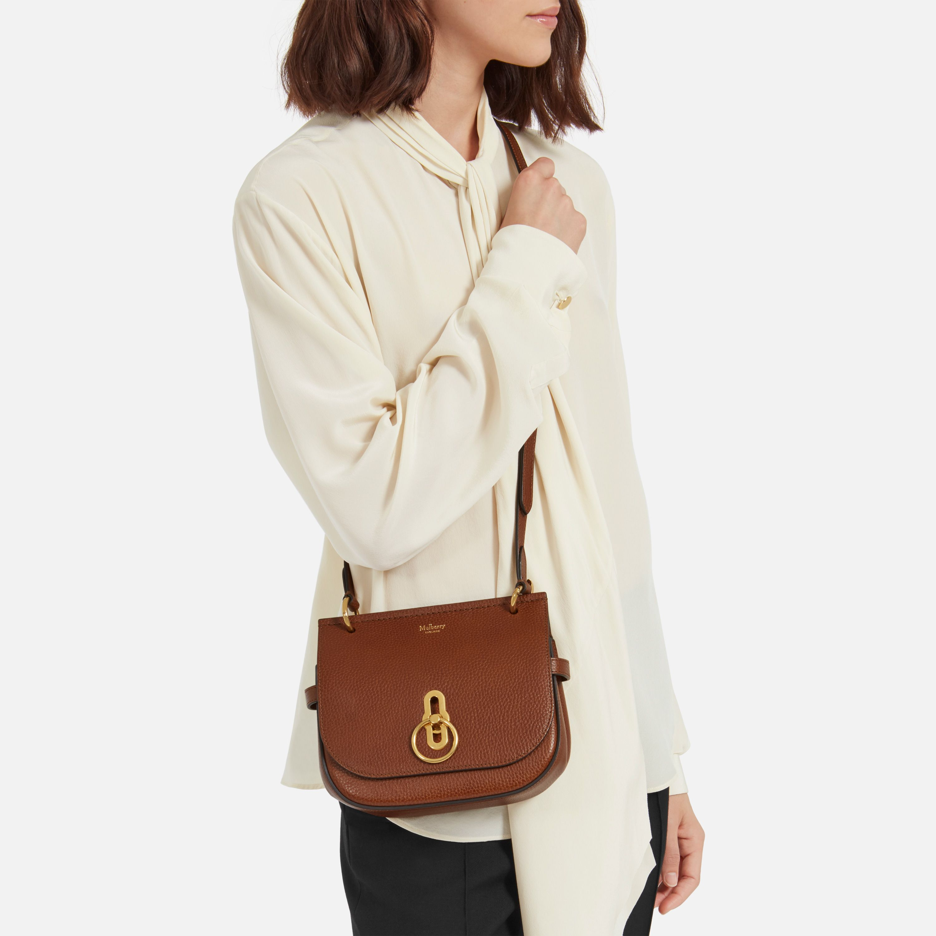 Shop the Small Amberley Satchel Bag in Oak Natural Leather at Mulberry.com.  Inspired 47379da9ad9d1