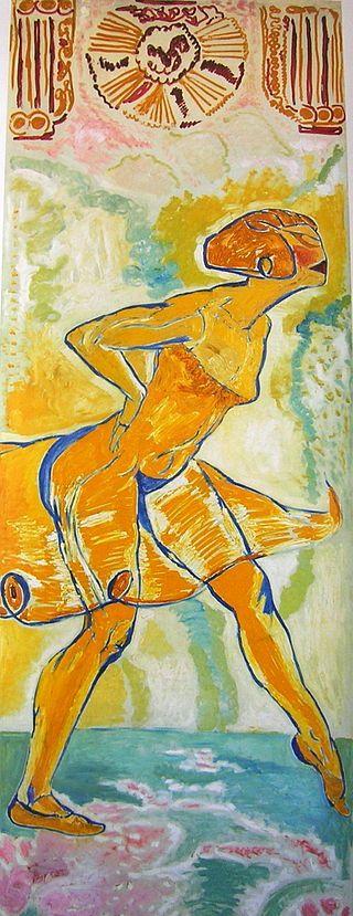 Danseuse jaune, Mèrodack-Jeanneau - Vanguardismo - Wikipedia, la enciclopedia libre