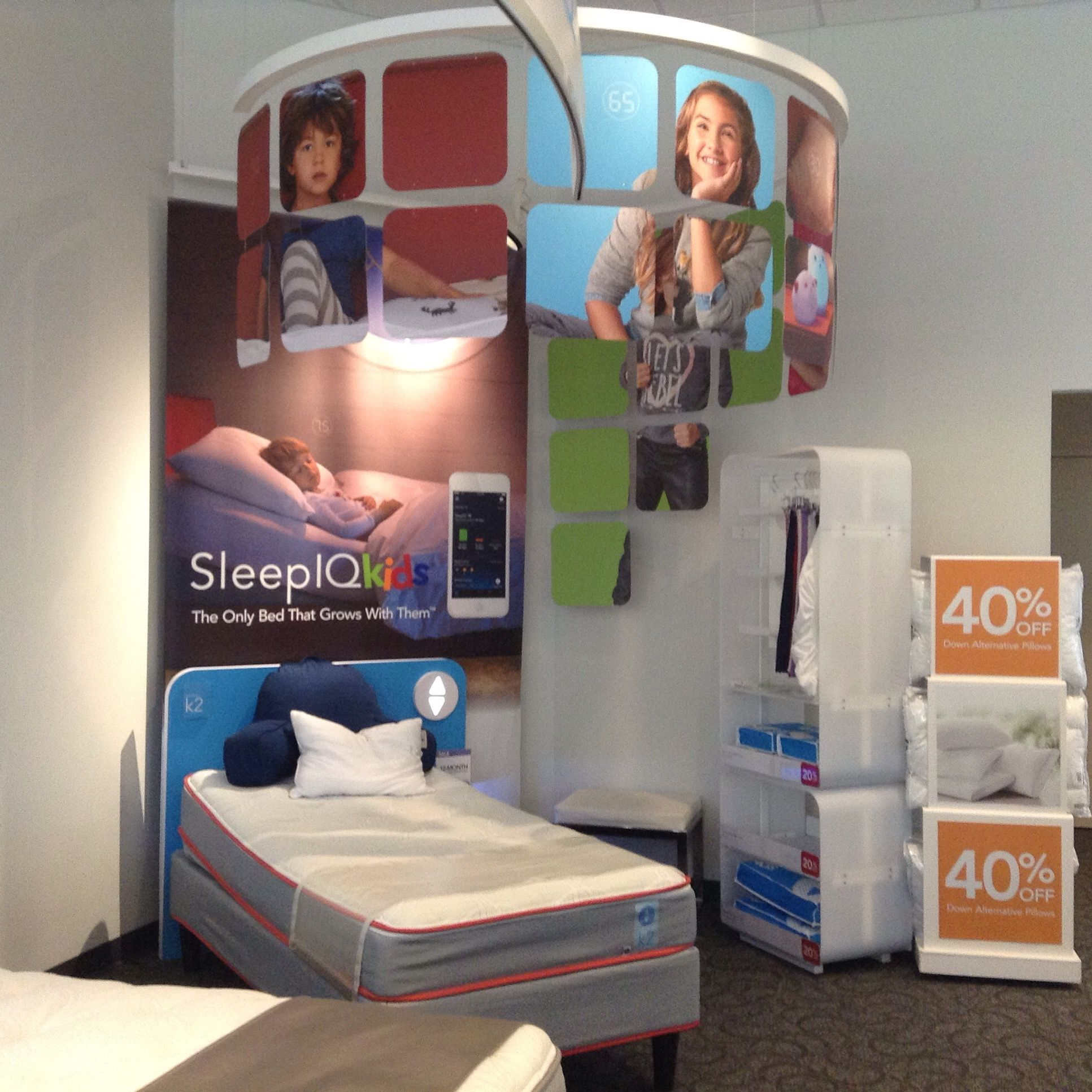 stopthestall sleep number iq kids bed is pretty awesome received a