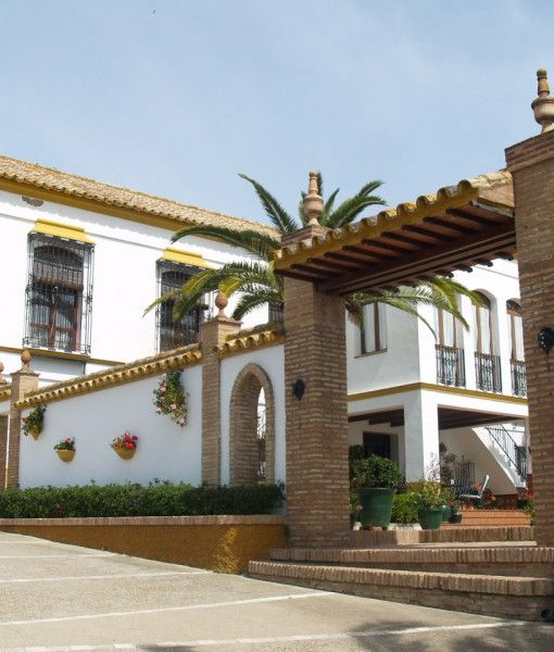 Cortijo Hacienda Nueva in Lora del Río (Seville) Holiday Rental up to 12 pers.