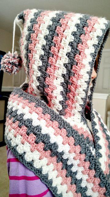 Crochet Harlequin Hoodie Free Pdf Pattern Crochet Patterns