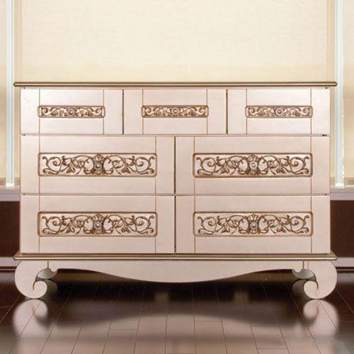 Chelsea Dresser In Antique Silver 1 738 00 Bratt Decor Baby