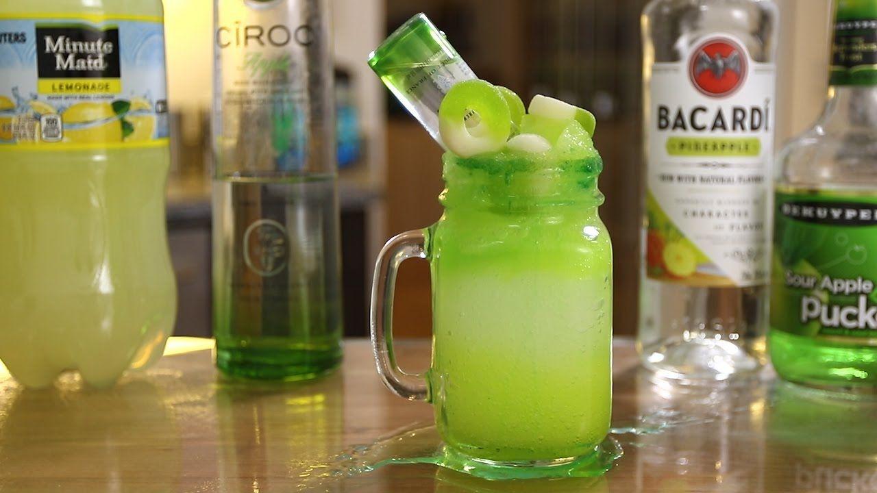 Sour Apple Smash Apple Drinks Apple Pucker Drinks Apple Drinks Alcohol