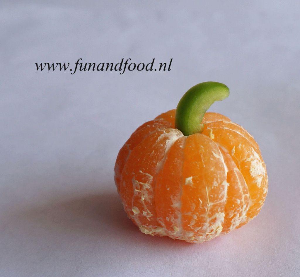 Halloween Lesidee.Manderijn Halloween Pompoen B Fun Kids Food Pumpkin Stuffed Green Peppers