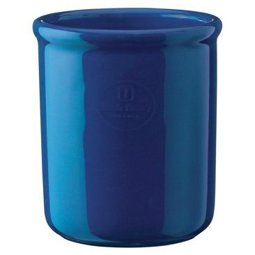 Check out this item at One Kings Lane! 1.4 Qt Crock, Azur