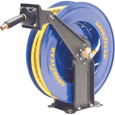 Goodyear 46741 1 2 Inch By 50 Feet Retractable Air Hose Reel Hose Reel Air Hose Reel Air Hose