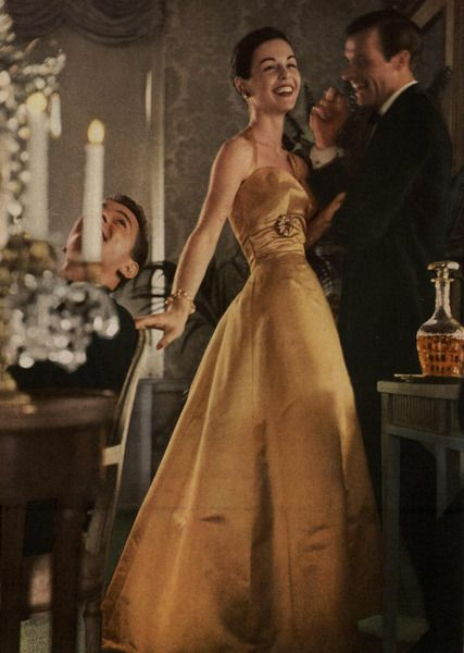 Mademoiselle Editorial Cordial Colors, November 1956 Shot #5