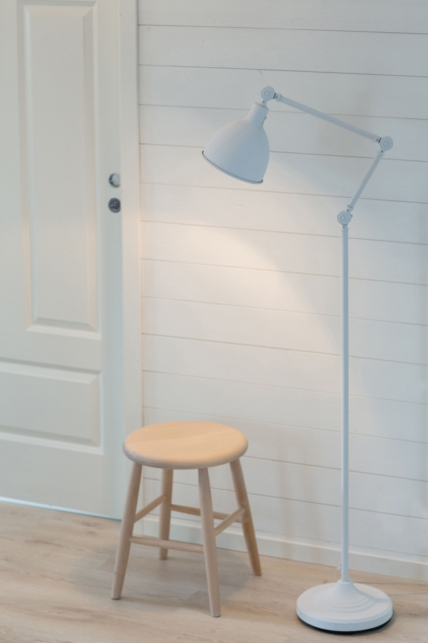 The Bazar Range Is Completed With A Decorative Floor Lamp The Lamp Is Available In Black And White And Em Scandinavian Floor Lamps Decorative Floor Lamps Lamp