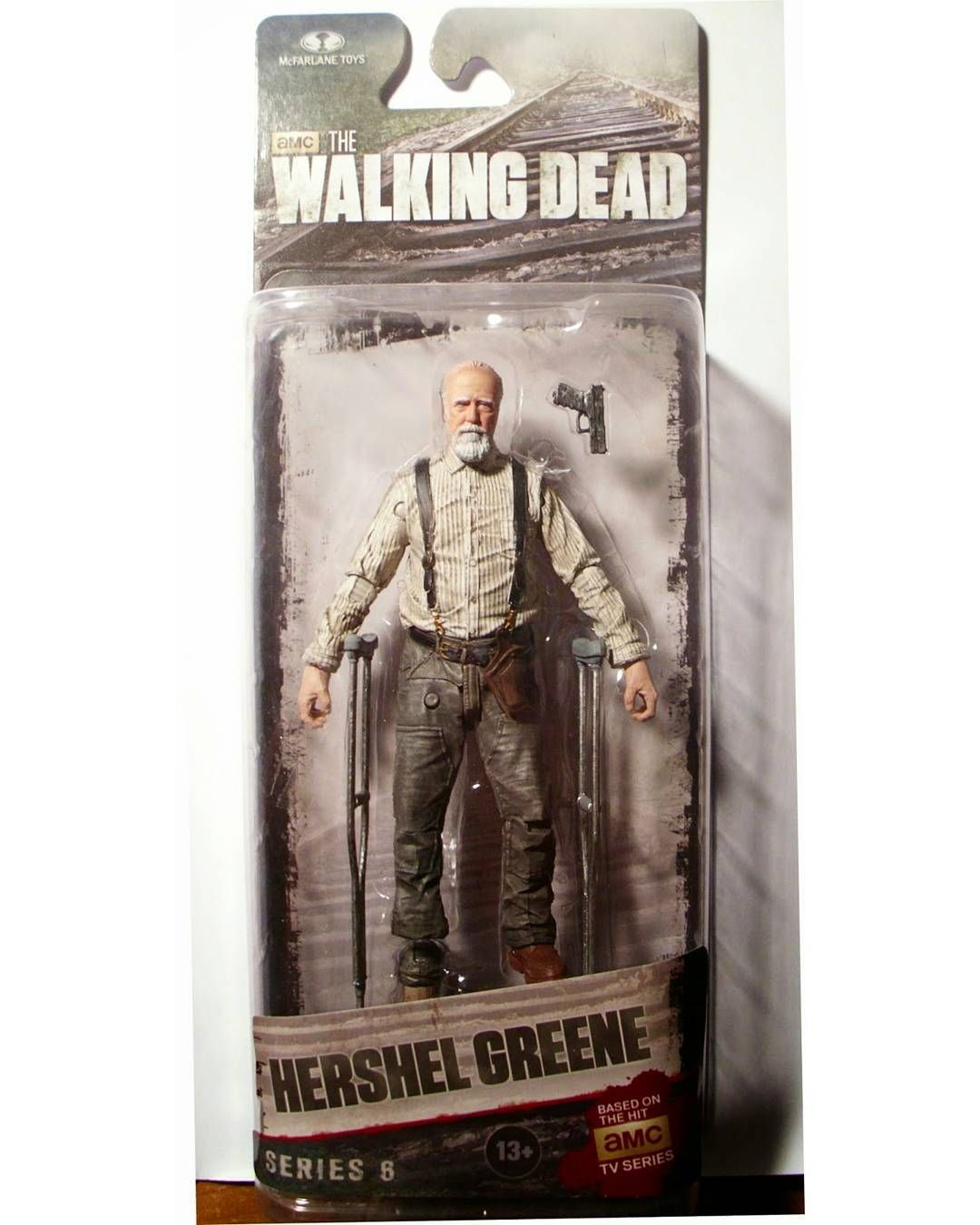 #The #Walking #Dead #Tv #Series  #Hershel #Greene #Series #6  #McFarlane #Toys #actionfigures #action #figures #figuras #ação #toy