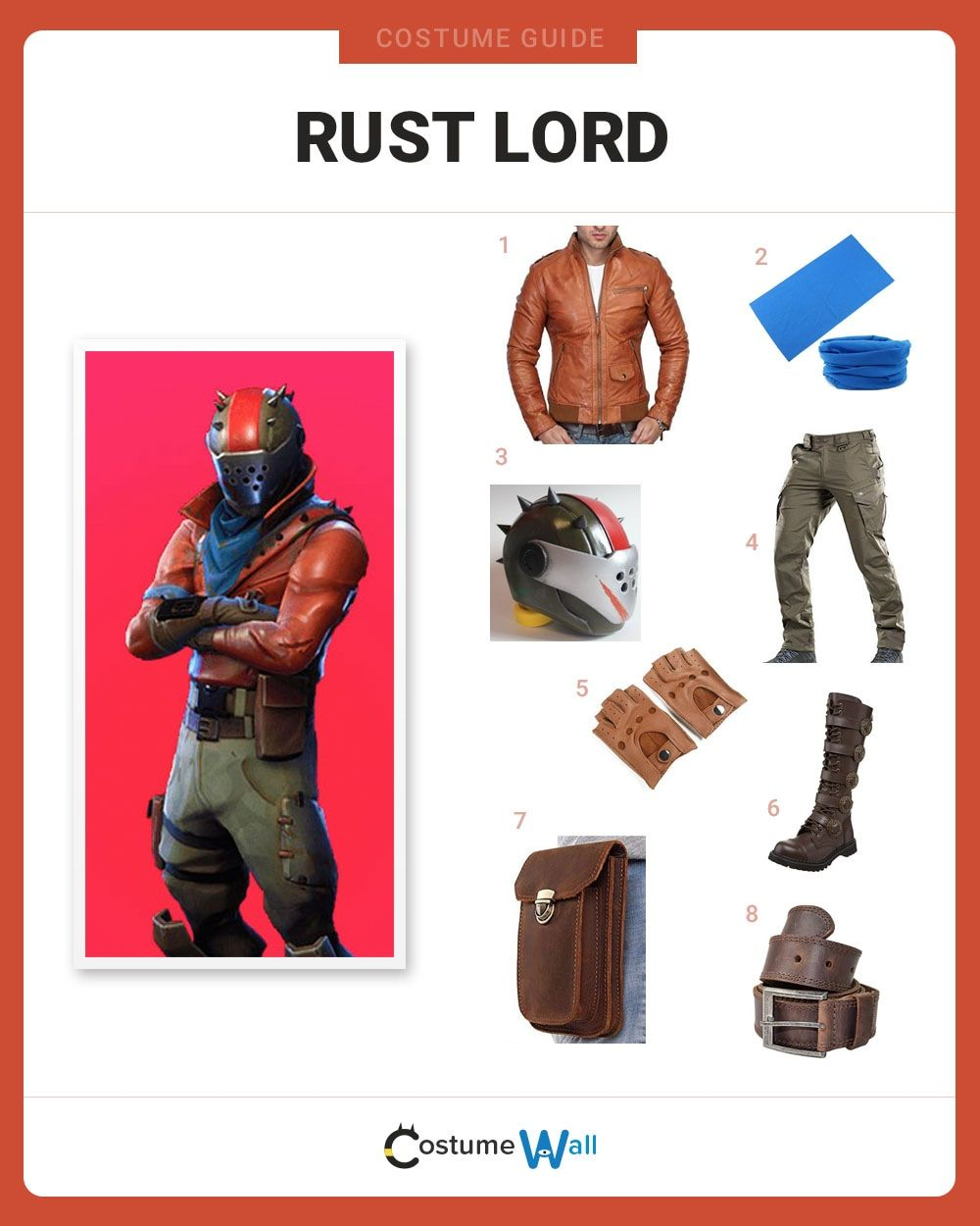 Dress Like Rust Lord From Fortnite Costume And Cosplay Guide