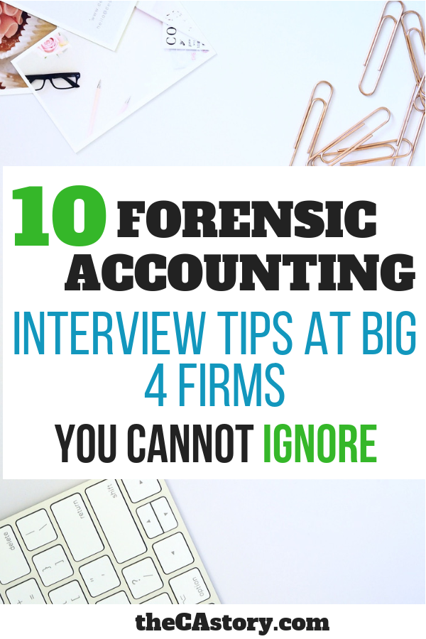 5 Forensic Accounting Interview Tips No One Will Tell You