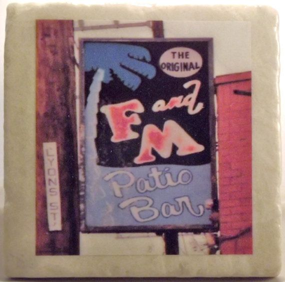 Attractive F U0026 M Patio Bar Coaster New Orleans By TheCoasterMan On Etsy