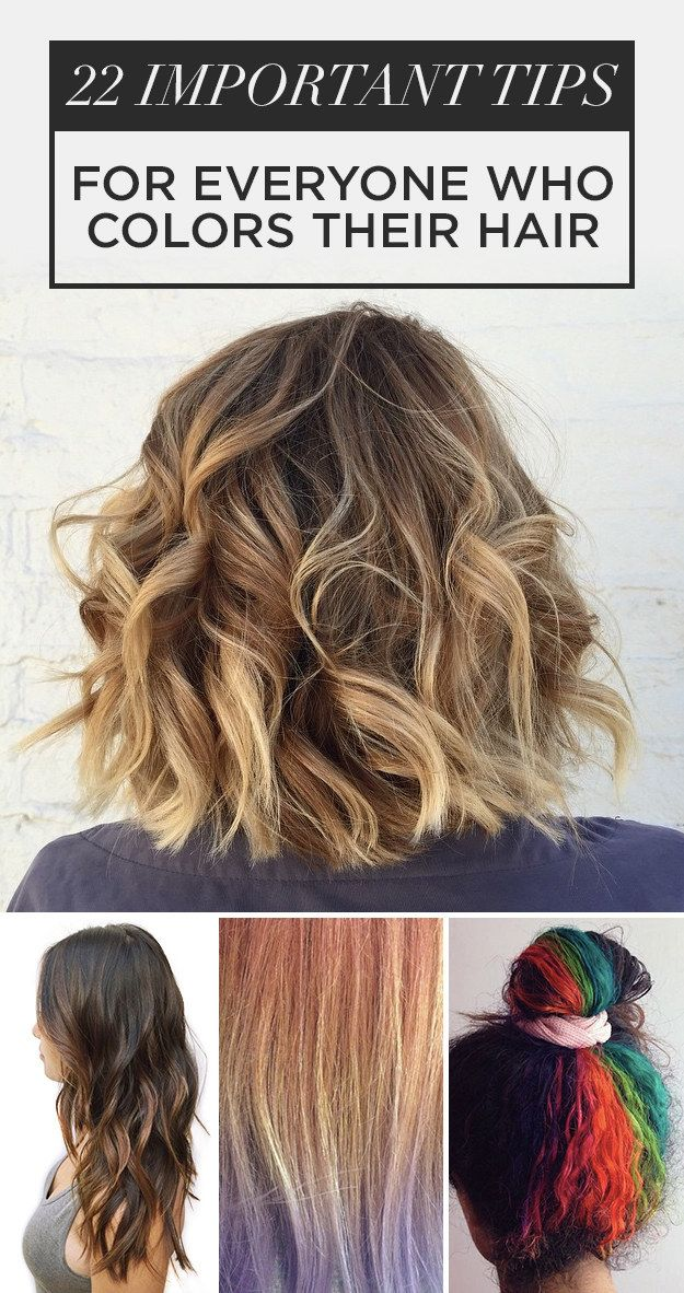 22 Hair Color Tips No One Ever Told You | Hair dye, Hair coloring ...