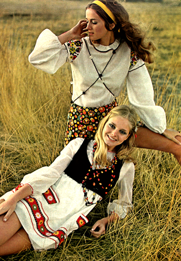 1970s Seventeen Magazine It S That Bohemian Things Again: Pin On Growing Up Baby Boomer Style