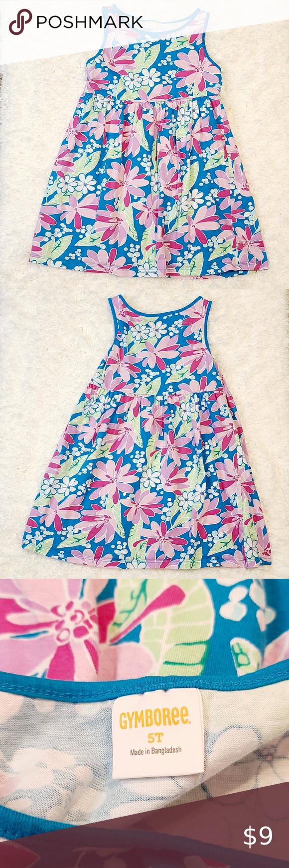 Gymboree Girls Blue Floral Dress Size 5t Gymboree Girls Blue Floral Dress Size 5t Material 100 Cot Little Girl Dresses Floral Blue Dress Girls Ruffle Dress [ 1740 x 580 Pixel ]