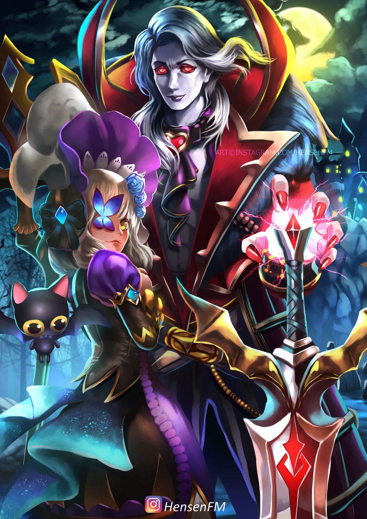 Alucard Viscount Mobile Legends Fanart - HensenFM by HensenFM