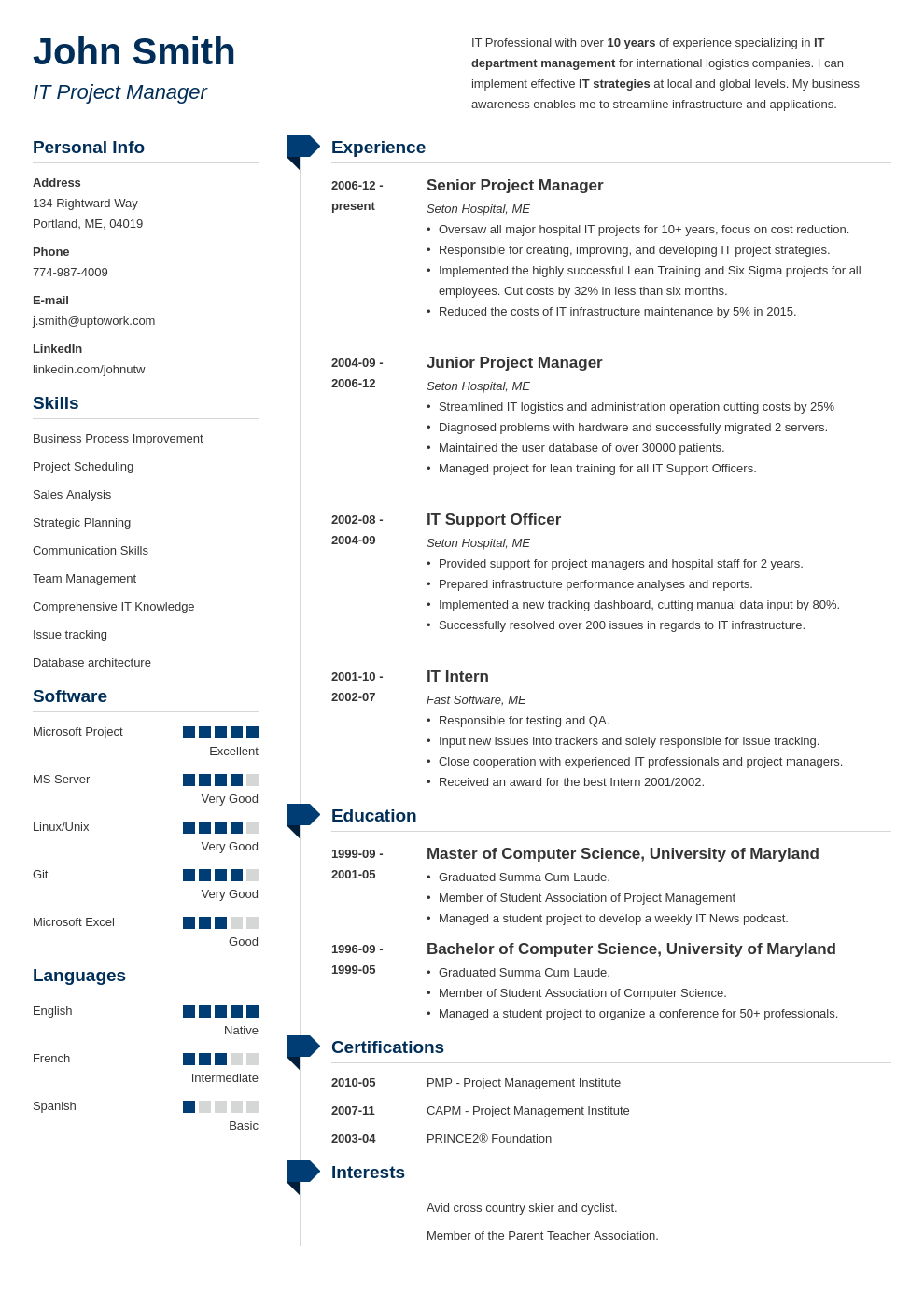 Professional Resume Template Muse (With images) Simple