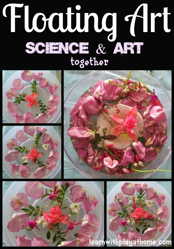 Floating Art (Art and Science Combined)