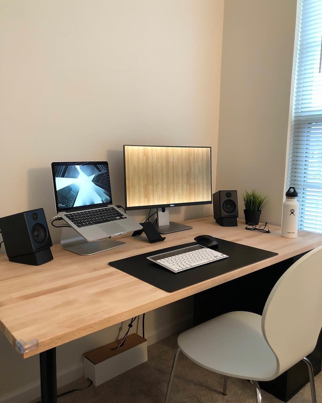 U Justinbreaux Minimalsetups Home Office Computer Desk Home Office Design Home Office Decor