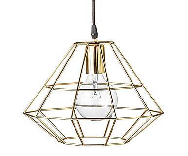 Lámpara de techo Pernille - dorado, Ø 30 cm
