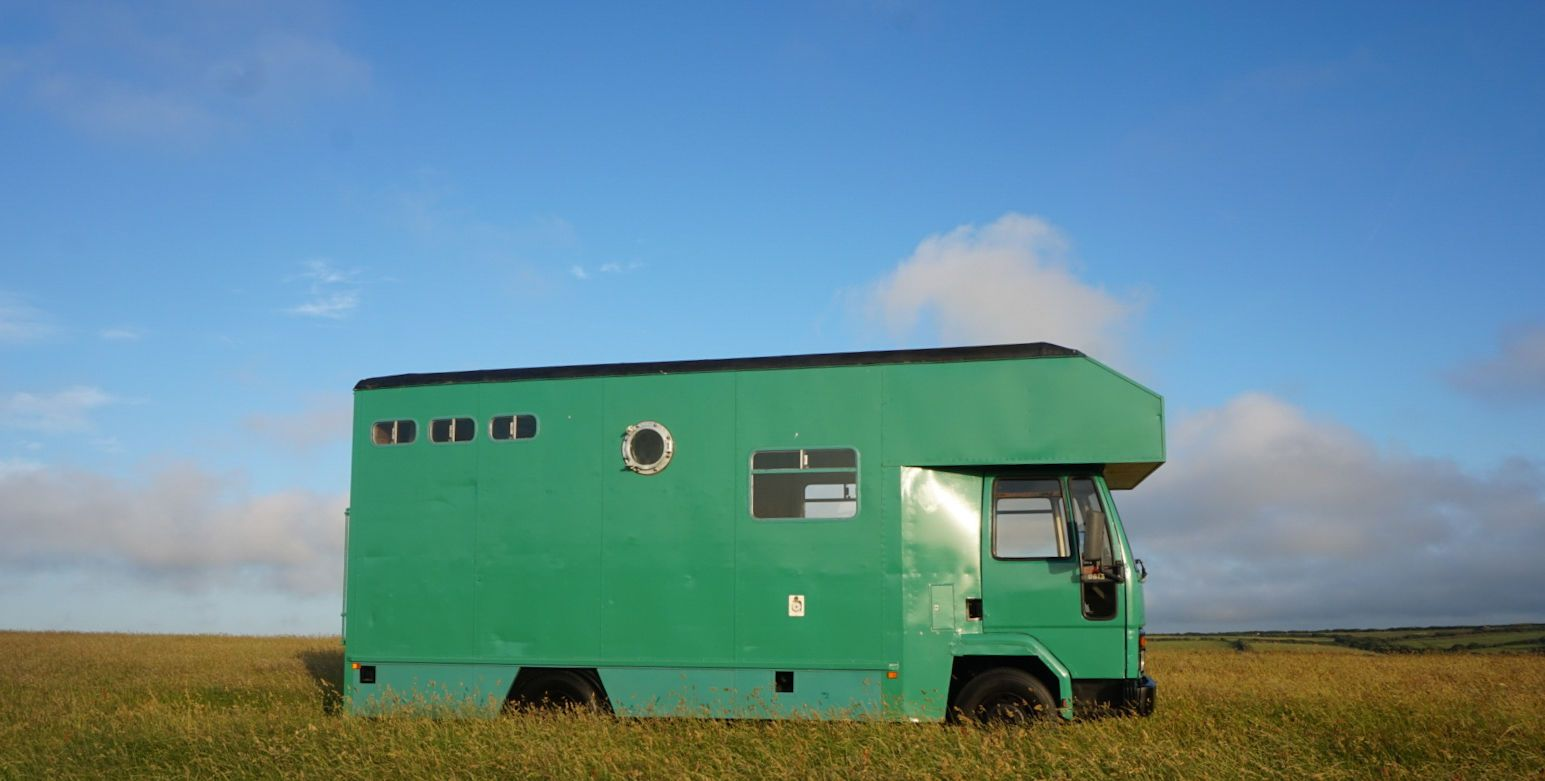 medium resolution of converted motorhome ford cargo 0813 ebay
