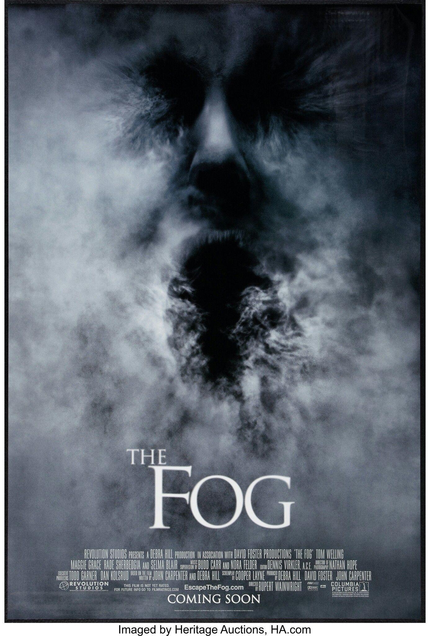 The Fog 2005 Cartaz De Filme Filmes E Cartaz