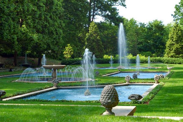 Longwood Gardens is a beautiful attraction located 10 minutes away