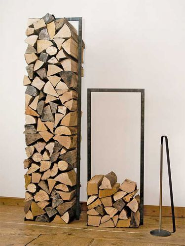 kaminholzst nder wood tower von raumgestalt fire pinterest brennholz. Black Bedroom Furniture Sets. Home Design Ideas