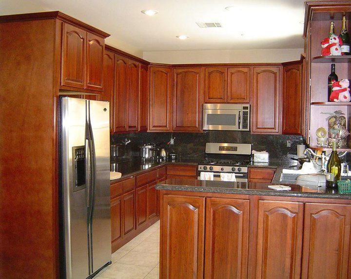 Walnut Cherry Cabinets - AAA Home Design, Southern California's ...