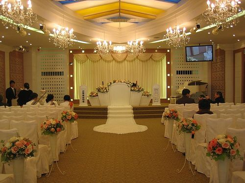 And Expressed By The Wedding Hall Decorations