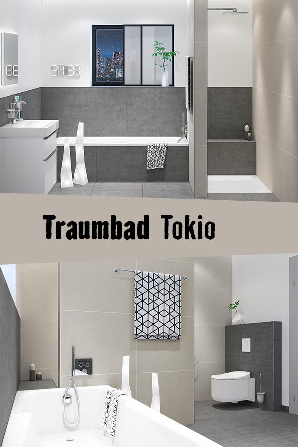 In Diesem Traumbadezimmer Wird Jeder Winkel Kreativ Und Effizient Genutzt Badezimmer Planen Japanisches Bad Bad