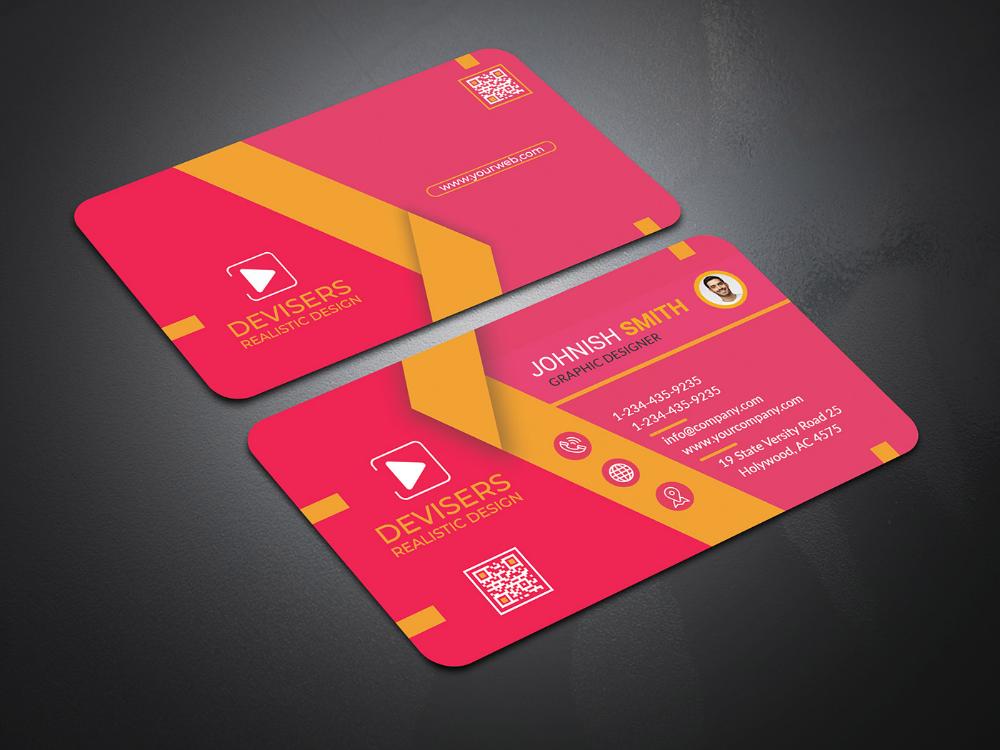 business card design on behance  business card design
