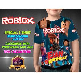 Roblox Birthday Shirt Customizable Birthday Shirts Birthday