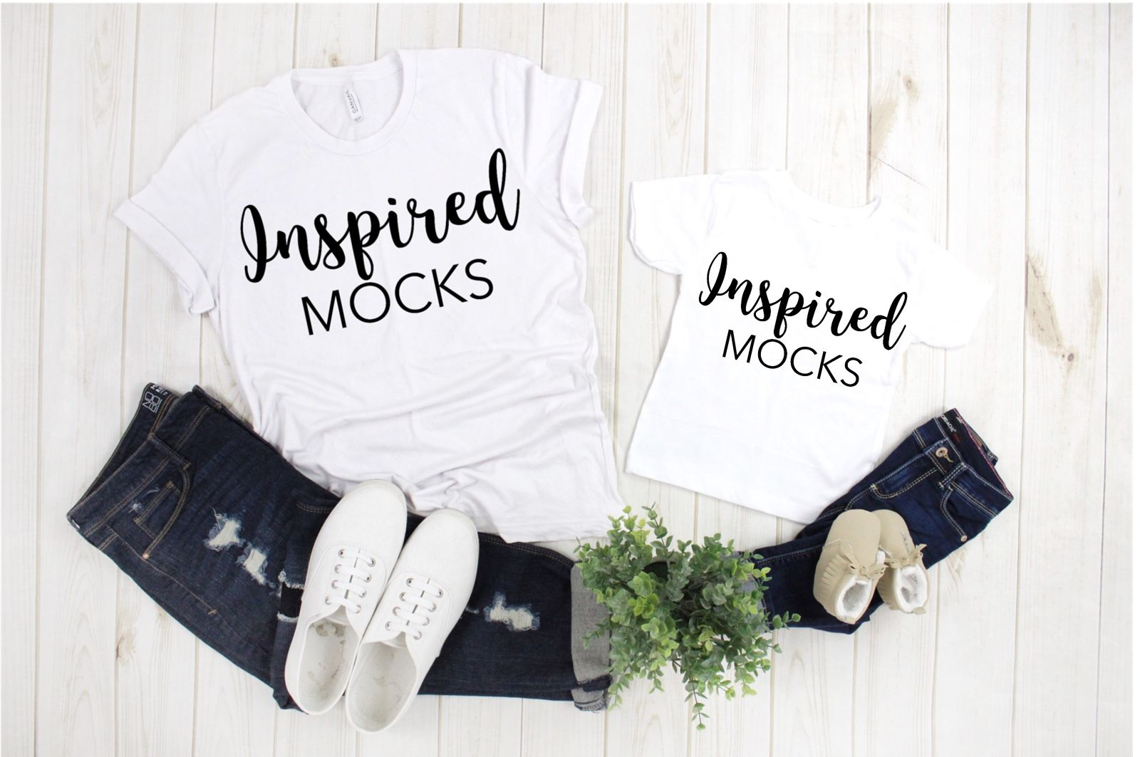 fec7b748e Bella Canvas 3001 3001T White Tshirt Mockup | Toddler Mockup | Family Flat  Lay Mockup | Mock Up | Bella Canvas Mockup | Mommy and Me Mockup