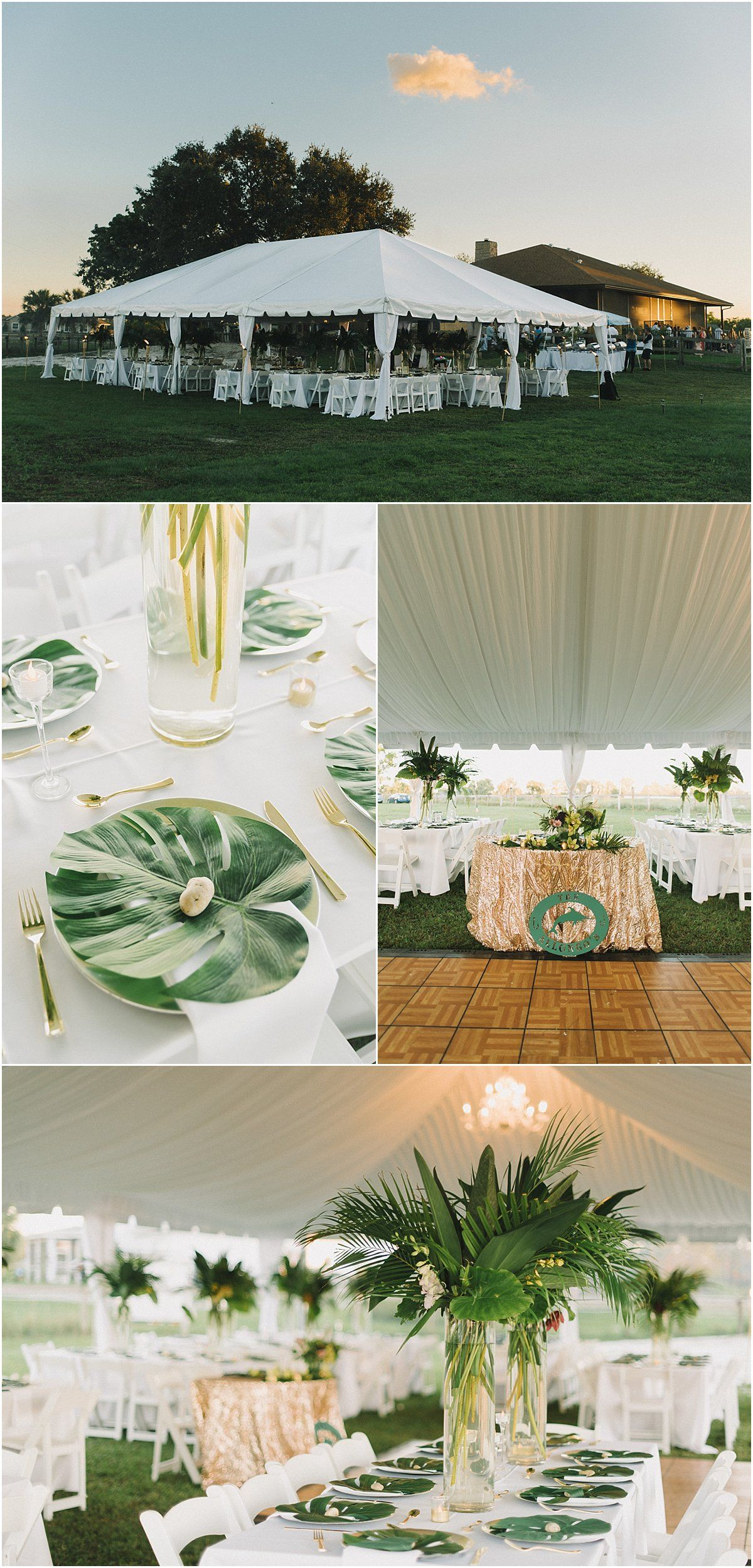 Cost Of Backyard Wedding tropical backyard wedding in palm beach, fl_robert madrid