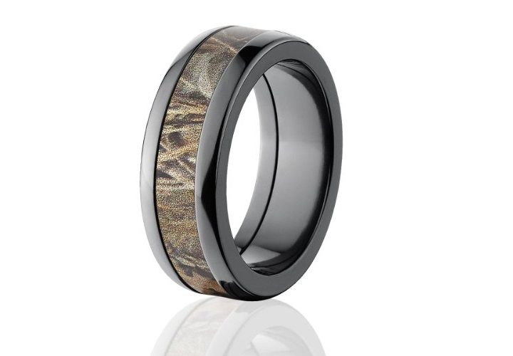 Black Anium Camo Wedding Bands Related For Men Unique Ceremony