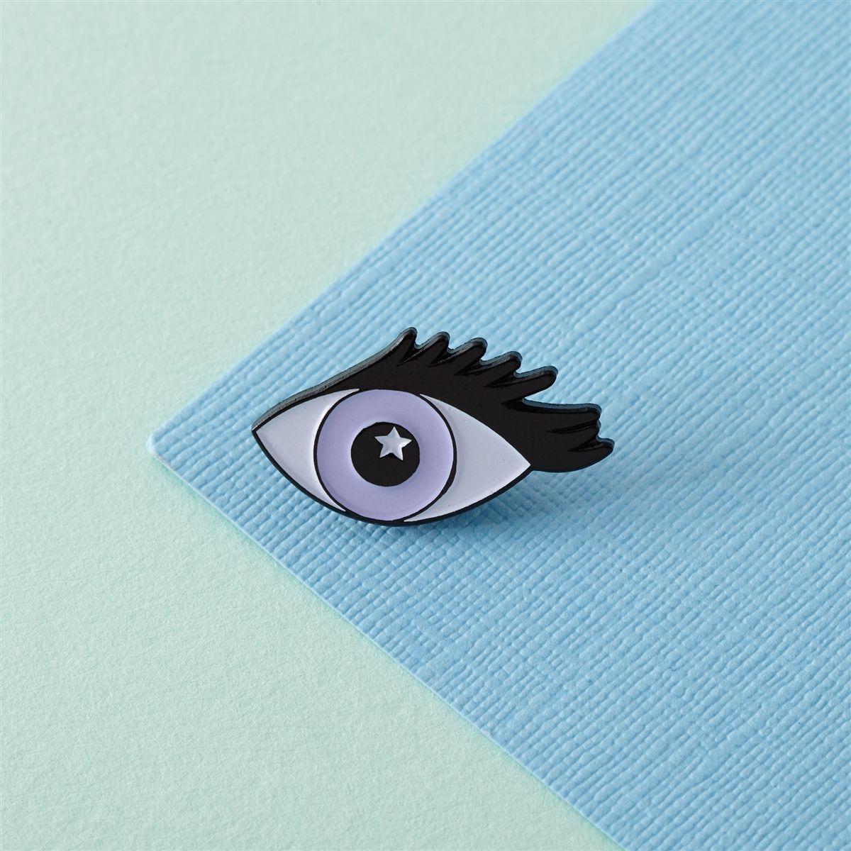 Eye enamel pin enamel pins lapel pins pin and patches